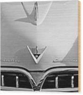 1953 Studebaker Emblem Wood Print