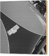 1954 Kurtis-kraft 500s Continuation Hood Emblem Wood Print