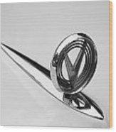 1955 Buick Special Hood Ornament Wood Print