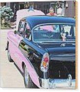 1956 Chevrolet Wood Print