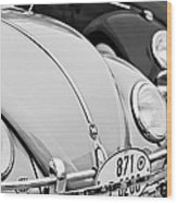 1956 Volkswagen Vw Bug Wood Print