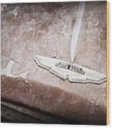 1957 Aston Martin Db2-4 Mkii Emblem Wood Print