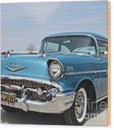 1957 Chevy Bel-air Wood Print