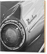 1957 Ford Ranchero Pickup Truck Taillight Wood Print by Jill Reger