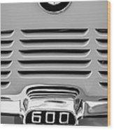 1959 Bmw 600 Isetta Emblem Wood Print