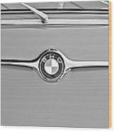 1959 Bmw 600 Isetta Hood Emblem Wood Print