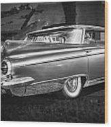 1959 Buick Electra 225 Bw Wood Print