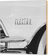 1959 Buick Electra Emblem Wood Print