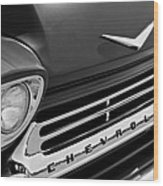 1959 Chevrolet Apache Front End Wood Print