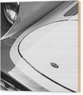 1959 Devin Ss Grille - Hood Emblem Wood Print
