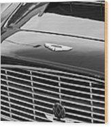 1960 Aston Martin Db4 Grille Emblem Wood Print by Jill Reger