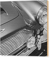 1960 Aston Martin Db4 Series II Grille Wood Print
