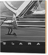 1962 Dodge Polara 500 Side Emblem Wood Print
