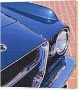 1962 Ghia L6.4 Coupe Grille Emblem Wood Print