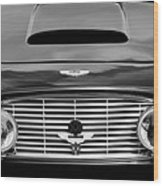1963 Aston Martin Db4 Series V Vantage Gt Grille Wood Print