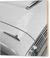 1963 Ford Falcon Futura Convertible Hood Wood Print by Jill Reger