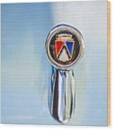 1963 Ford Falcon Futura Convertible  Hood Ornament Wood Print
