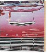 1963 Ford Falcon Sprint Convertible  Wood Print