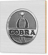 1963 Shelby 289 Cobra Emblem Wood Print