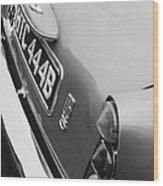 1964 Aston Martin Db5 Coupe' Taillight Wood Print