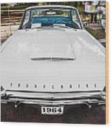 1964 Ford Thunderbird Painted Wood Print