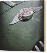 1964 Morgan 44 Hood Emblem Wood Print