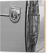 1964 Sunbeam Tiger Taillight Emblem Wood Print