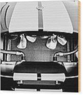 1965 Shelby Cobra Grille Wood Print by Jill Reger