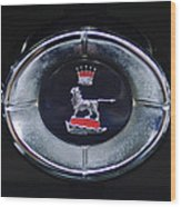 1965 Sunbeam Tiger Grille Emblem Wood Print
