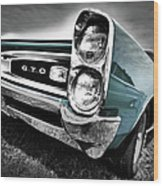 1966 Pontiac Gto Wood Print