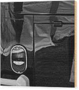 1966 Volkswagen 21-window Microbus Taillight Emblem Wood Print
