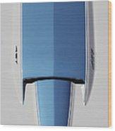 1967 Chevrolet Corvette Hood Wood Print
