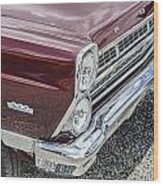 1967 Ford Fairlane 500xl Wood Print