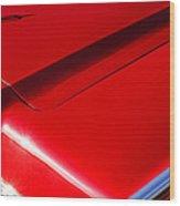 1967 Lincoln Continental Hood Ornament Wood Print
