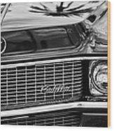 1969 Cadillac Eldorado Grille Wood Print