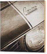 1969 Chevrolet Camaro Z-28 Emblem Wood Print by Jill Reger