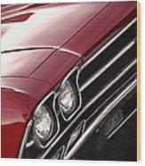 1969 Chevrolet Chevelle Ss 396 Wood Print