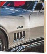 1969 Chevrolet Corvette 427   Wood Print