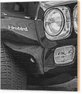 1969 Pontiac Firebird 400 Side Emblem Wood Print