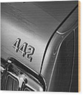 1970 Oldsmobile 442 W-30 Wood Print