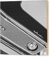 1971 Amc Javelin Amx Grille Emblem Wood Print