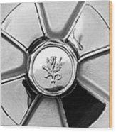 1971 Iso Fidia Wheel Emblem Wood Print