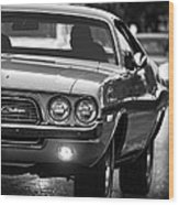 1972 Dodge Challenger Wood Print