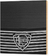 1972 Lancia Fulvia 1.3s S2 Grille Emblem Wood Print