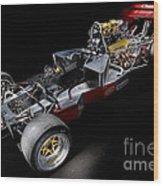 1974 Lola T332  F5000 Race Car V8 5 Litre Chassis Wood Print