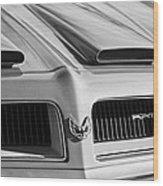1974 Pontiac Firebird Grille Emblem Wood Print