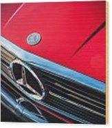 1984 Mercedes 500 Sl Convertible Wood Print
