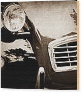 1988 Citroen 2cv Charleston Wood Print