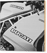 1993 Ducati 900 Superlight Motorcycle Wood Print