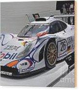 1998 Porsche 911 Gt1 Wood Print